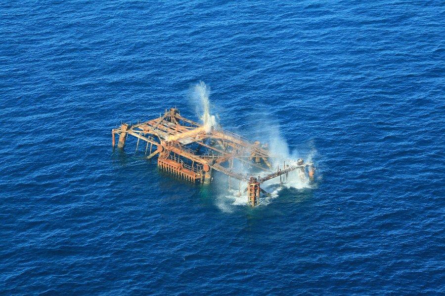Explosivos offshore